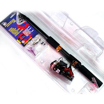 Telescopic Fishing Rod Sets