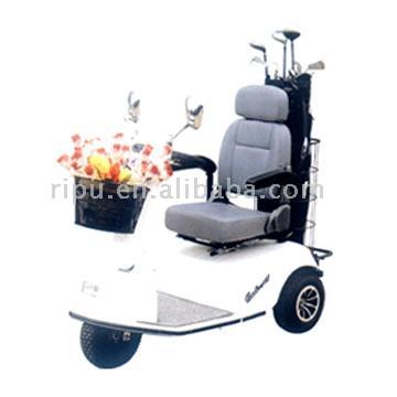 3-Wheel Electric Golf Carts
