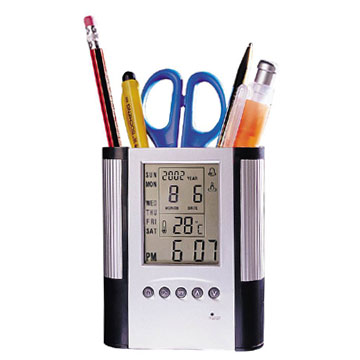 Pen Holder with Calendar