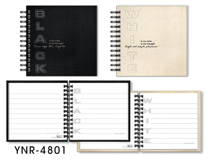 Fabric Spiral Notebook
