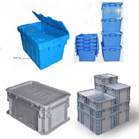 containers,nesting containers, Stack & Nest containers, folding containers, plastic containers