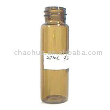 Tubular Glass Vial for Injection Use