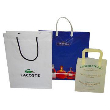 Block Bottom Plastic Bags