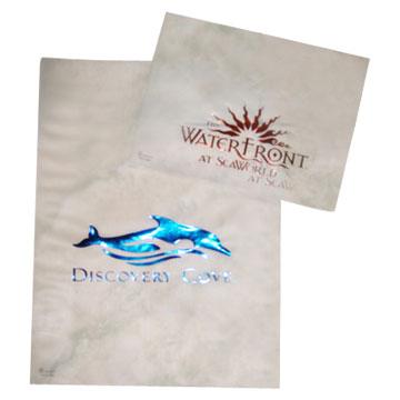 Hot Foiled Plastic Bags
