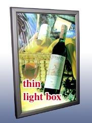 super thin slim light box