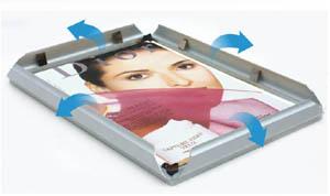 light box  snap frame(OPEN TYPE)