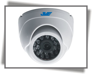 JVE-866 color IR dome camera