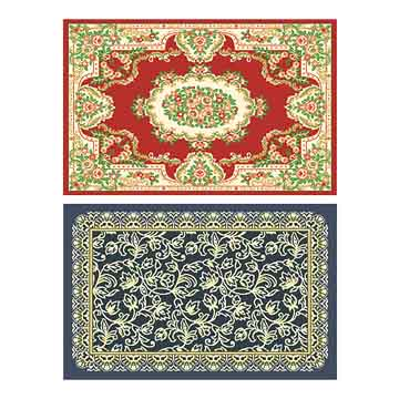 Silk Wilton Carpet and Bamboo Fiber Wilton Carpet