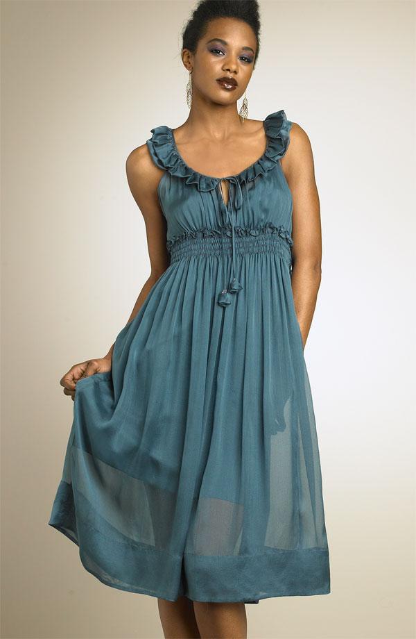 Короткие, длинные.  Красивые платья из Италии Шоу.