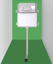 concealed cistern(suit for squatting pan lavatory)