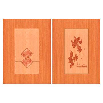 Cabinet Door Pattern Paper