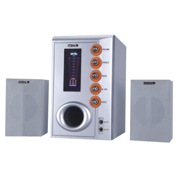 2.1CH Multi-media Speakers
