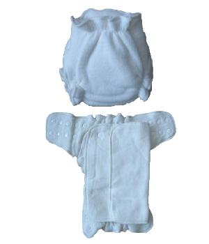 Washable baby nappy