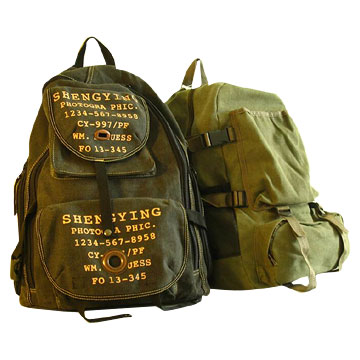 Backpack Canvas Bags