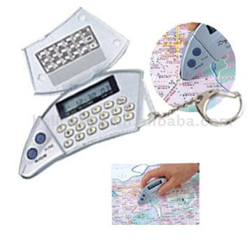Map Measurer with Calculator