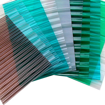 Polycarbonate Transparent Corrugated Sheets