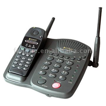 Long Range Cordless Phone for Mobile Conference