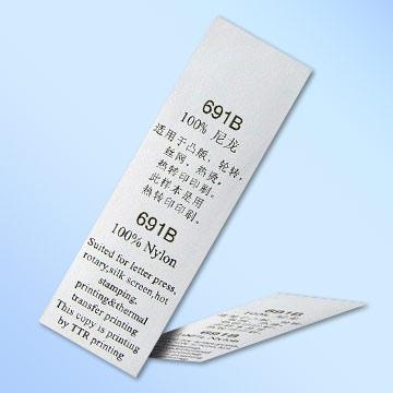 Nylon Taffeta Label Fabric