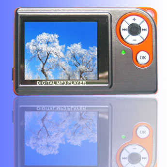 MP4 player with 2.0 Inch TFT Screen