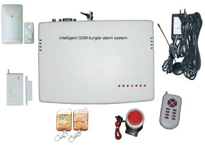 GSM Wireless burglar alarm system
