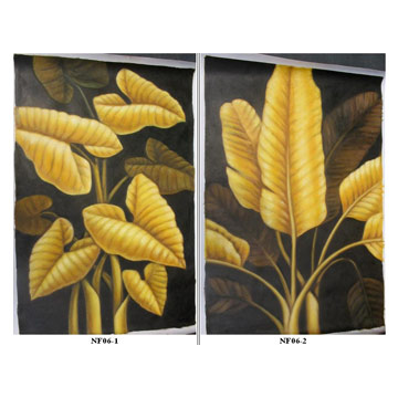 Oil Paintings (Decorative Flower)