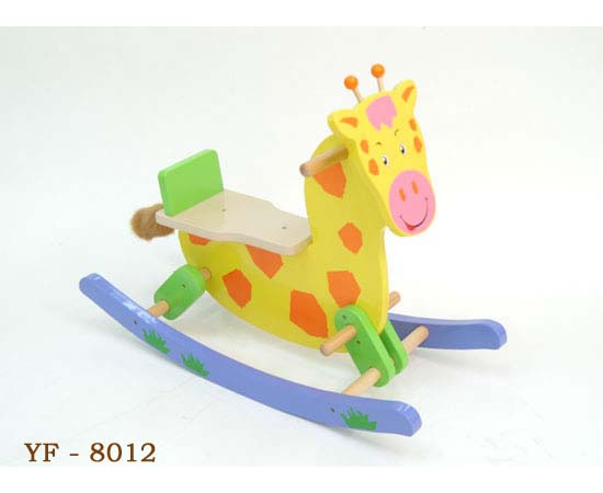 wooden toys- rocking horse