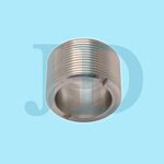 carbon steel slotted male thread coupling for auto component