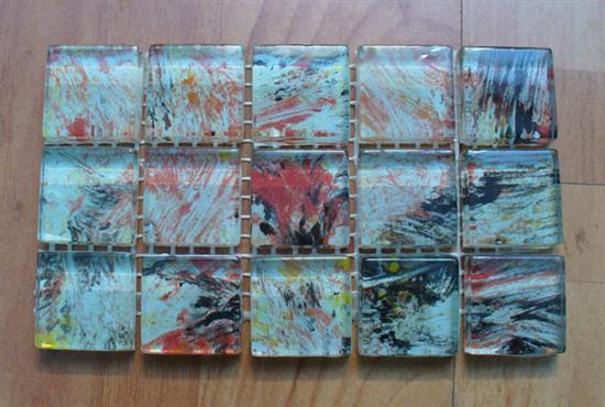 glass mosaic tile, glass tile