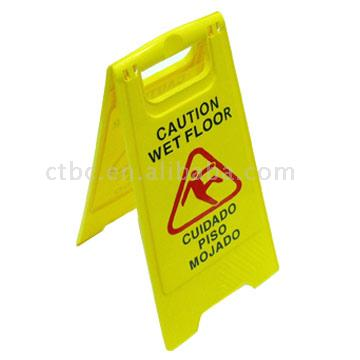 Plastic Floor Warnning Sign