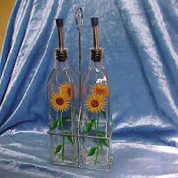 Glass Oil Lamp Bottles
