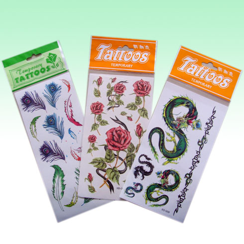2. temporary tattoo. 1) Safe and non-toxic 2) Ideal for decorating body
