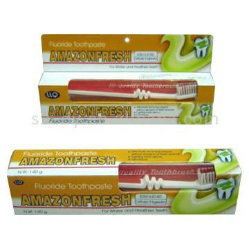 Amazonfresh Toothpastes