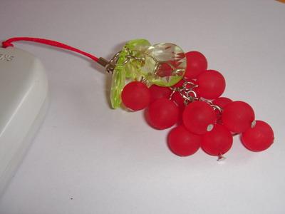 Grape Charm Strap