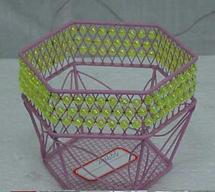 Metal Gifts Baskets