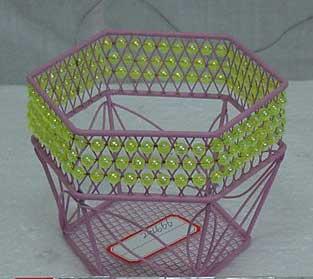 Metal Gifts Baskets