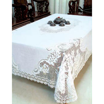 How to Crochet Lace Tablecloths | eHow.com