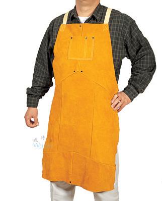 cow split leather apron
