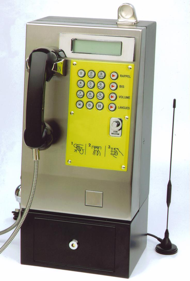 GSM Wireless Coin Payphone