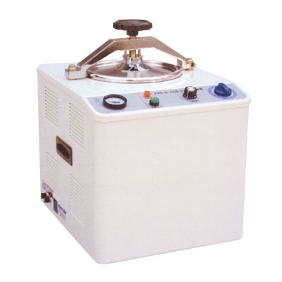 Pressure steam dental autoclave