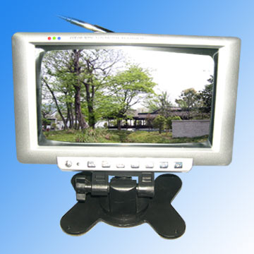 """7"""" LCD Color TV"""