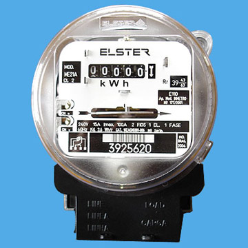 Kw-watt hour meter