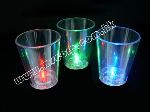 Flashing Shot Glass