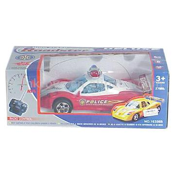 4 Functions RC Police Car