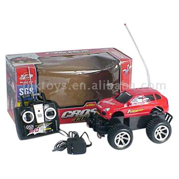4 Function RC Cross-Country Car with Charger