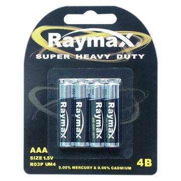 Zinc-Manganese Battery (R03 UM-4)