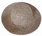 woman raffia hat