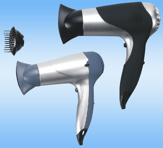 straight-handle electric hair dryer