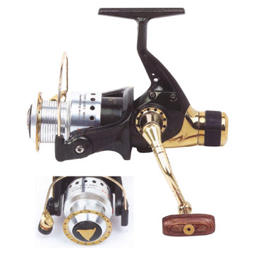 spinning reel fishing