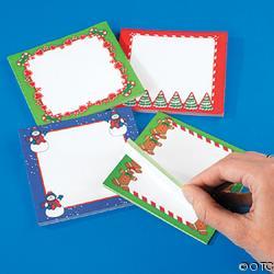 Christmas Sticky Notes