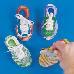 Athletic Shoe Notepads